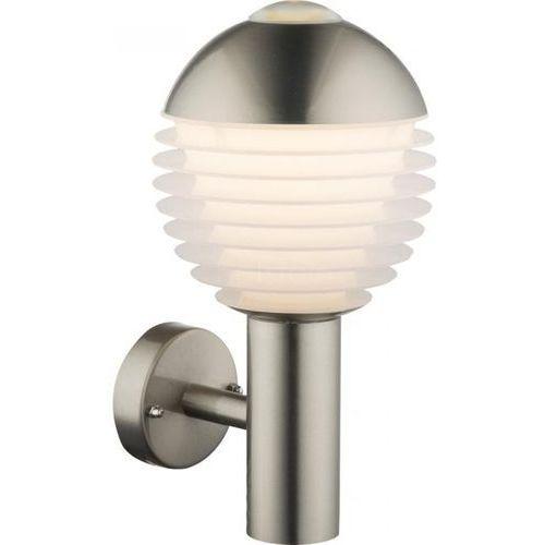 Globo lighting Globo alerio zewnętrzny kinkiet led srebrny, 1-punktowy - nowoczesny/design - obszar zewnętrzny - alerio - czas dostawy: od 6-10 dni roboczych