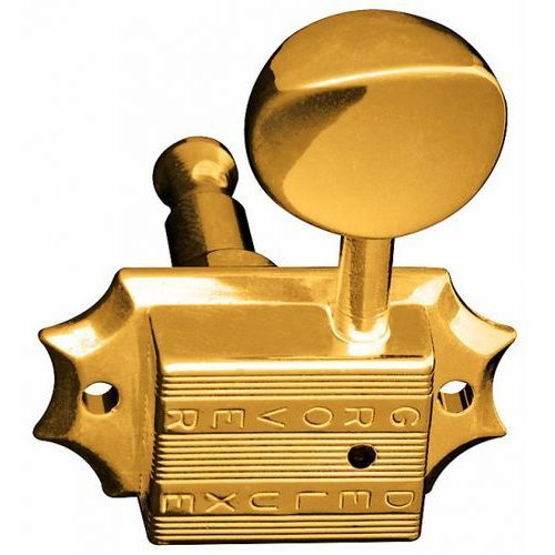 Grover Vintage Deluxe 136G klucze gitarowe, 3+3, złote