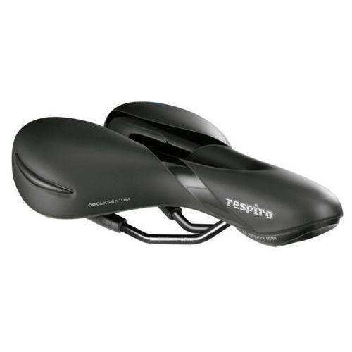 SiodeŁko rowerowe selleroyal respiro soft moderate 60st Żel + elastomery m czarny (8021890443588)