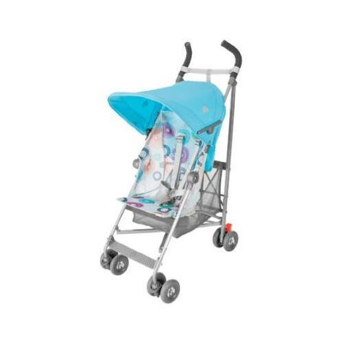 Maclaren wózek spacerowy volo silver rotary print blue (5010902193897)