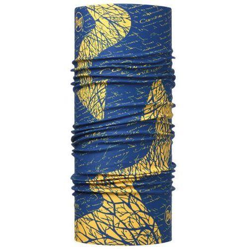 Buff Chusta high uv protection camino de santiago signal royal niebieski-żółty