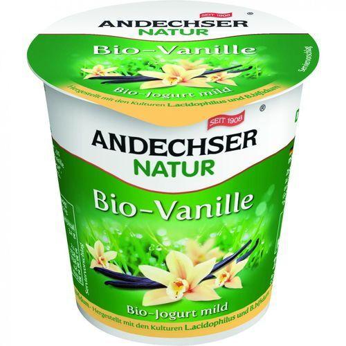 Jogurt waniliowy 3,7% tł. BIO 150 g Andechser (4104060026393)