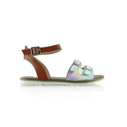 Sandały model kb2015l-139-3w silver marki Heppin