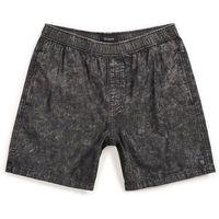 Szorty - steady elastic wb short black acid wash (blkaw) rozmiar: l marki Brixton