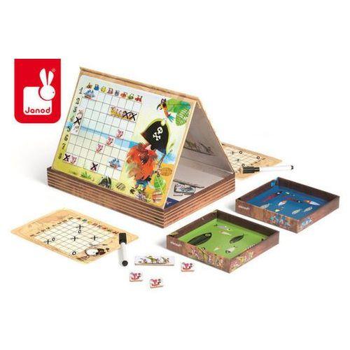 Statki gra magnetyczna - zabawki dla dzieci marki Janod