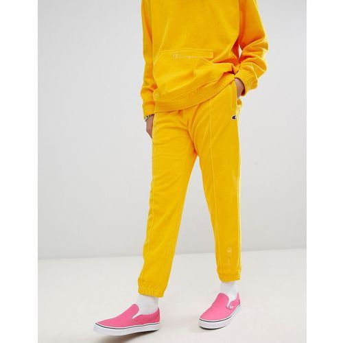 velour joggers in yellow - yellow, Champion, XS-XL