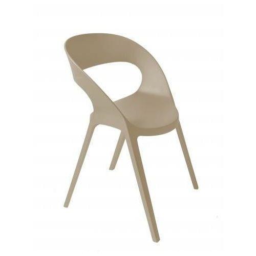 Krzesło Carla - beżowy, 40487