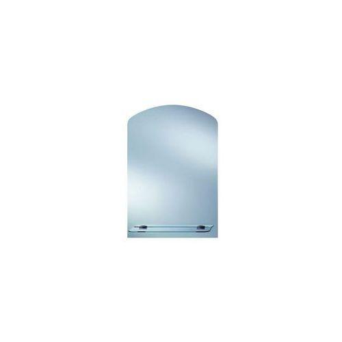 Dubiel vitrum Lustro łazienkowe bez oświetlenia toaletka z polką 63 x 44 cm