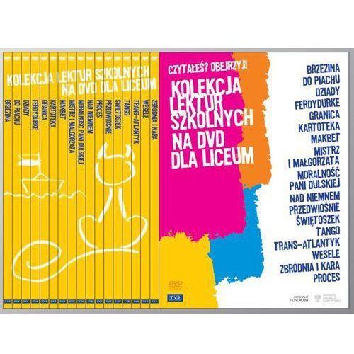 OKAZJA - Pakiet: kolekcja lektur szkolnych na dvd dla liceum [20dvd] marki Telewizja polska
