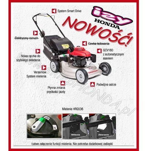 Promocja hrg 536 c7 vke / izy ii z napędem / kosiarka spalinowa  + olej + dostawa gratis marki Honda