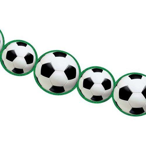 Girlanda piłka nożna - 243 x 14 cm - 1 szt. marki Amscan