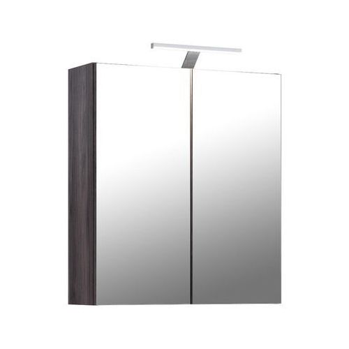 Szafka łazienkowa z lustrem oświetlenie LED kolekcja Gracja Comad
