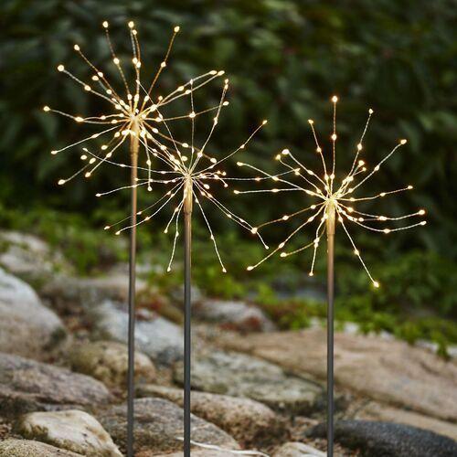 Lampa dekoracyjna LED Firework Outdoor 3 szt.