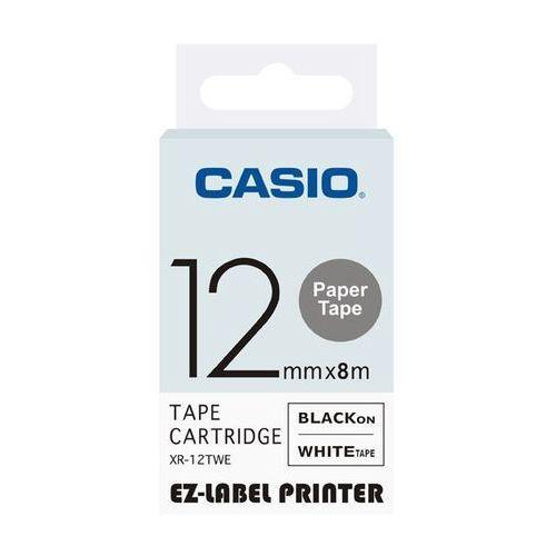 Casio taśma etykiet papierowa XR-12TWE, XR12TWE