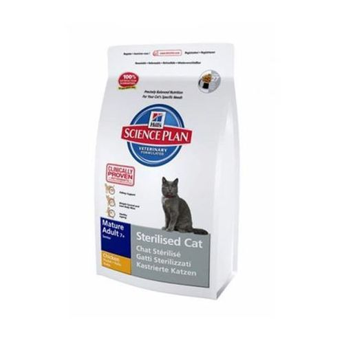 Hills Hill's feline mature adult 7+ sterilised 1,5kg - 1,5 kg