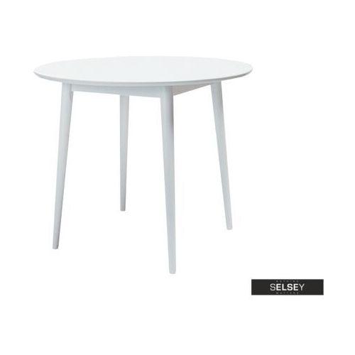 Signal Selsey stół falkvik średnica 90 cm biały
