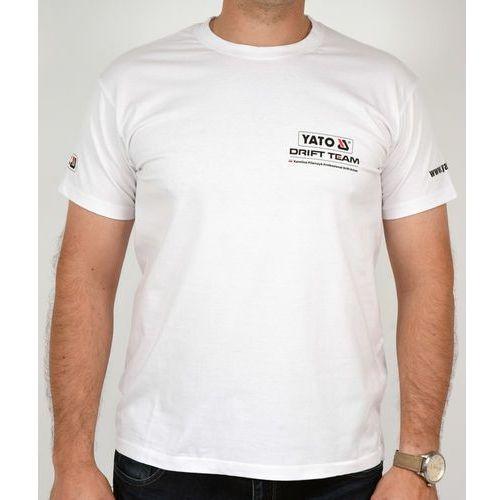 Koszulka t-shirt rajdowy biały rozmiar l ar-711 - zyskaj rabat 30 zł marki Yato