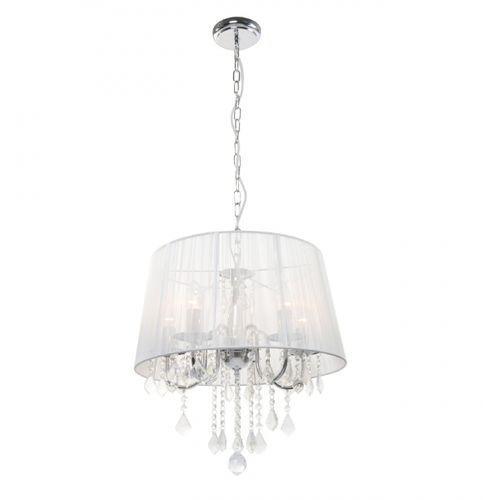 Light prestige Lampa wisząca mona 3 srebrny chrom, lp-5005/3p srebrna