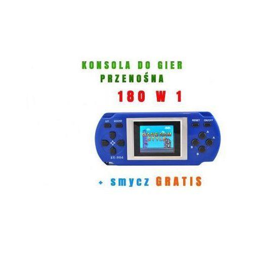 """Przenośna konsola do gier z ekranem lcd 1,8"""" - baza 180 gier!! marki Sti ltd."""