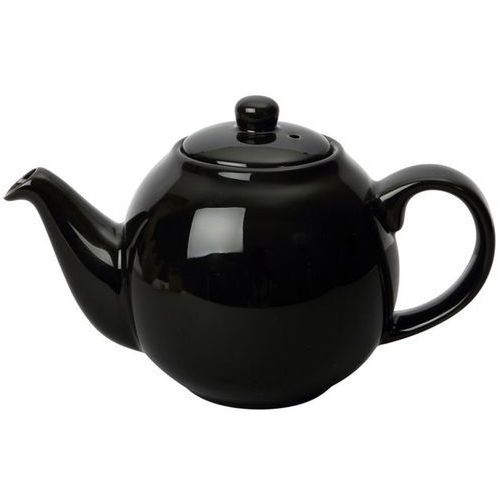 Dzbanek do herbaty London Pottery Globe czarny połysk 1,1 Litra (LP-17230185) (5017039142750)
