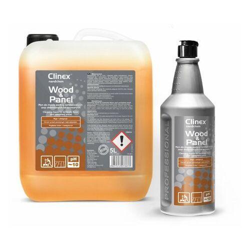 Wood&panel 5l - płyn do mycia podłóg laminowanych oraz drewnianych lakierowanych marki Clinex