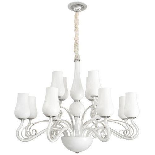 Mw-light Eklektyczna lampa wisząca do dużego salonu glamour elegance (483010112)