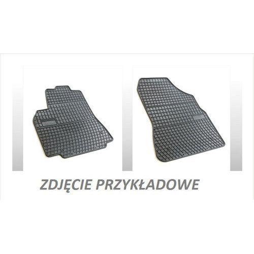Dywaniki gumowe czarne z kompletem stoperów - opel corsa (d) 2006-2014, 2 siedzenia marki Frogum