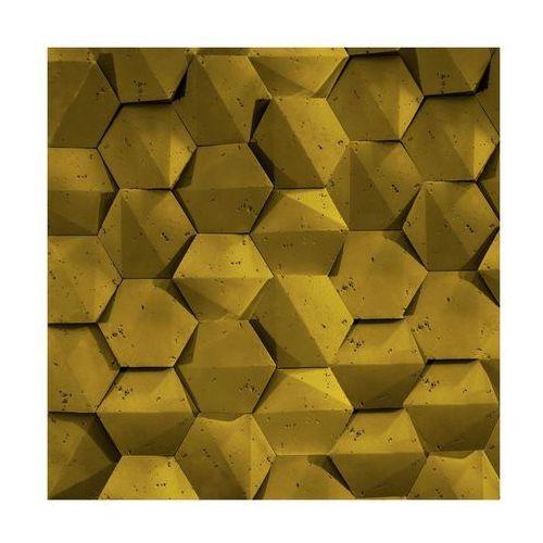 Steinblau Kamień dekoracyjny playa/hexagon 3d złoty 19,5 x 17 cm (5902406631442)