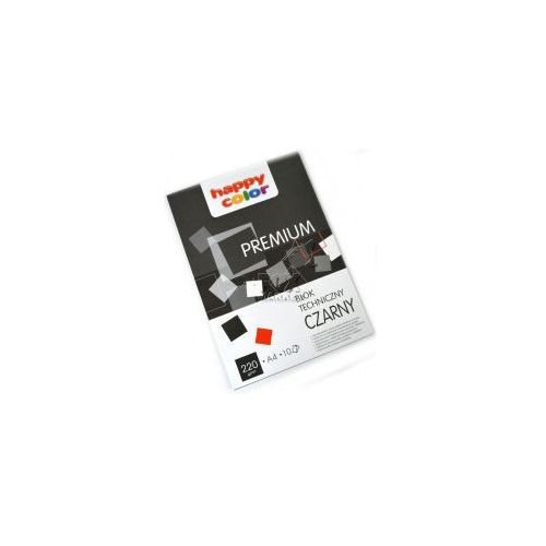 Blok techniczny a4 happy color 220g czarny marki Staedtler