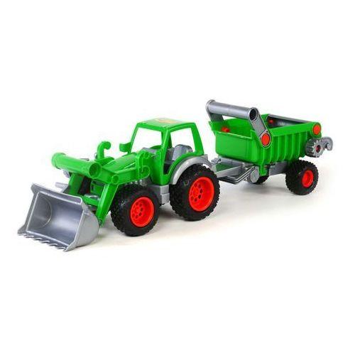 Wader-polesie Pojazd traktor ładowarka z naczepą (4810344037756)