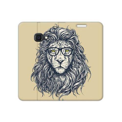 Samsung Galaxy Xcover 4S - etui na telefon Flex Book Fantastic - hipster lew, ETSM941FBFCFB048000