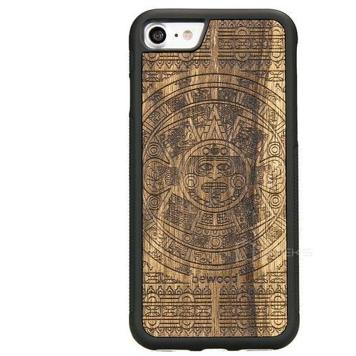 Bewood kalendarz aztecki limba etui na telefon iphone 7 / iphone 8 - kalendarz aztecki limba (1145018552777)