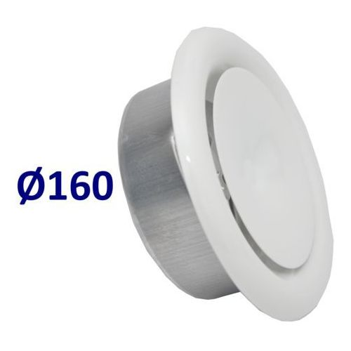 Mmt Anemostat nawiewny średnice od 100 do 200 zawór do wentylacji wszystkie średnice średnica [mm]: 160