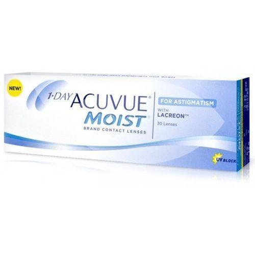 Johnson & johnson Soczewki 1 day acuvue moist for astigmatism 30szt.