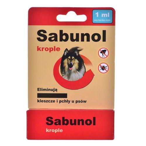 Dr seidel Sabunol - krople przeciw pchłom i kleszczom dla psów 1ml- zamów do 16:00, wysyłka kurierem tego samego dnia! (5901742000684)