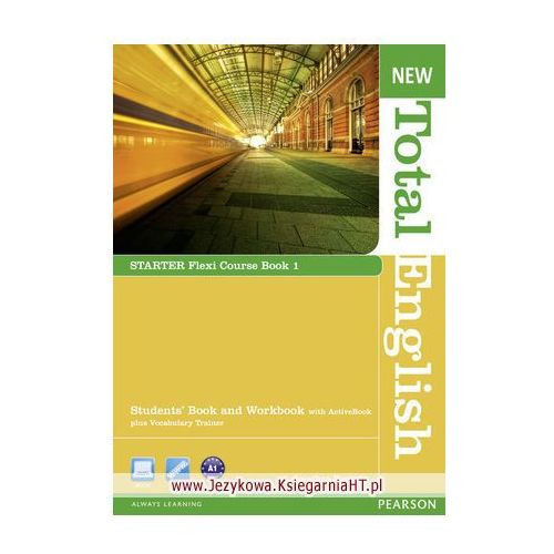New Total English Flexi Starter Course Book 1 (podręcznik z ćwiczeniami) (2012)