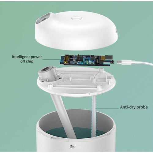 Baseus Elephant Humidifier | Cichy nawilżacz powietrza + lampka nocna LED 2w1