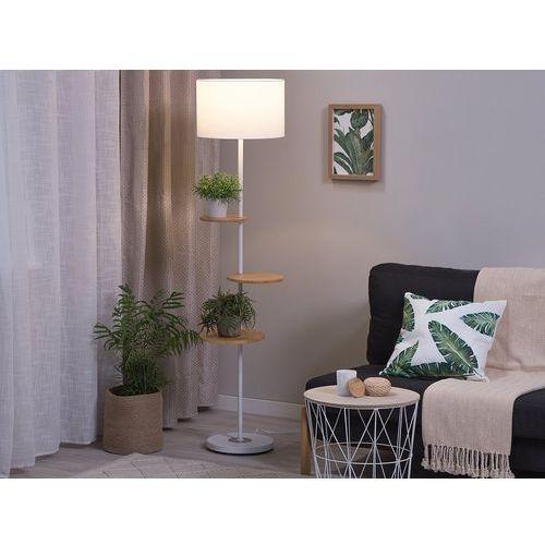 Lampa stojąca biała 153 cm spero marki Beliani