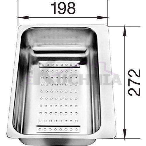Blanco Odsączarka ze stali szlachetnej 280x198x72mm (217796) (4020684370035)