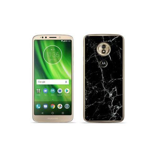 etuo Fantastic Case - Motorola Moto G6 Play - etui na telefon Fantastic Case - czarny marmur, ETMT716FNTCFC032000