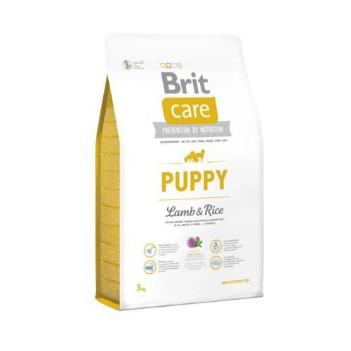 BRIT CARE Puppy All Breed Lamb & Rice 3kg - 3000, MO-12741