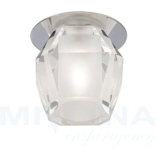 Oczko 1 chrom szkło 15 cm, 5158CC