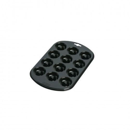 Wmf  kaiser - creativ foremka do mini pączków z dziurką (na 12 sztuk) wymiary: 28 x 27 cm