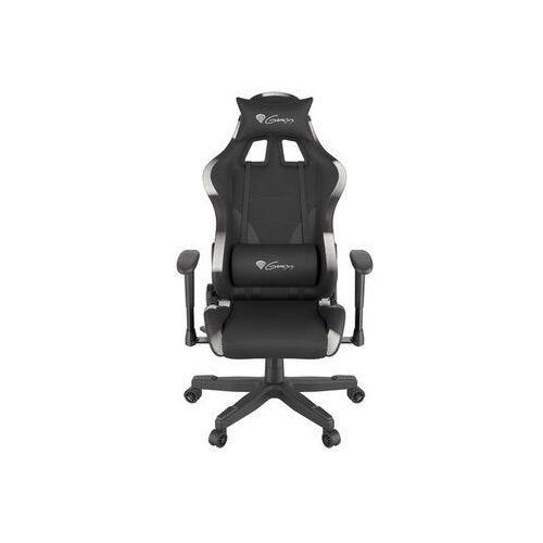 Natec Fotel dla gracza genesis trit 600 podświetlenie rgb czarny (5901969425482)