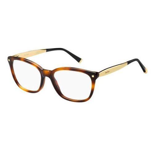Okulary korekcyjne  mm 1278 bhz marki Max mara