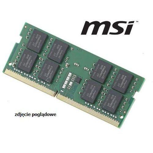 Msi - Pamięć ram 4gb do laptopa msi leopard pro-053 gp72mvrx ddr4 2400mhz sodimm