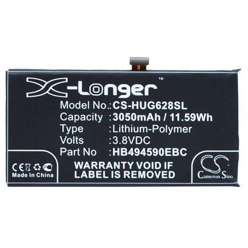 Huawei Ascend G620S / HB494590EBC 3050mAh 11.59Wh Li-Polymer 3.8V (Cameron Sino), CS-HUG628SL