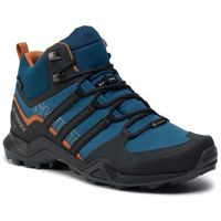 Buty adidas - Terrex Swift R2 Mid Gtx GORE-TEX G26551 Legmar/Cblack/Teccop, kolor niebieski
