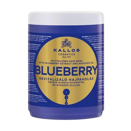 kjmn blueberry maska z ekstraktem z czarnej jagody i awokado 1000 ml marki Kallos