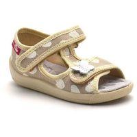 Dziecięce kapcie renbut 13-140_p-1031 beż - beżowy marki Ren but